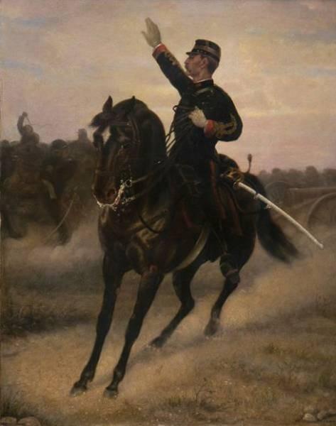 Girin David E Cavalry Commander